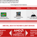 AMD working on improve laptop power comsumption for longer battery life