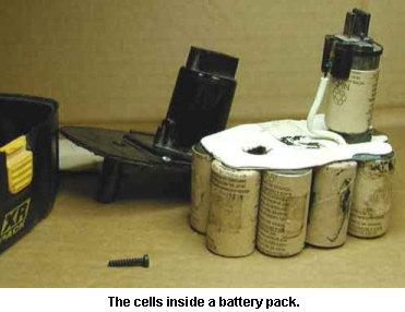 how to rebuild panasonic ey9106 power tool battery packs